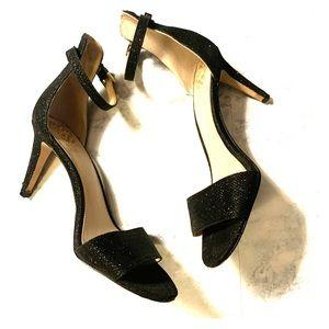 Vince Camuto sparkle strap heels